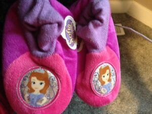 Disney Sophie size 11/12 kids slippers - $2