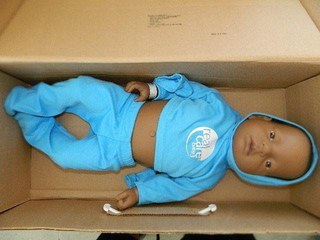 Reality Works Echt Pflege Baby III 3 Simulator Braucht Batterie Afrikanisch