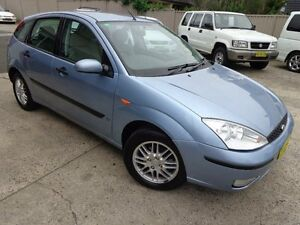 2005 Ford Focus LS LX Sky Blue 4 Speed Automatic Hatchback Sylvania Sutherland Area Preview