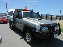 2008 Nissan Patrol GU MY08 ST (4x4) Gold 5 Speed Manual Wangara Wanneroo Area Preview
