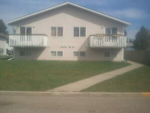 Innisfail four-plex apartment for rent