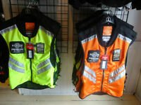 ICON MILITARY SPEC HI VISIBILITY MOTORCYCLE RIDING VESTS!