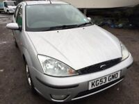 2003 Ford Focus, starts and drives well, 1 years MOT (runs out November 2018), 1 owner since 2004, s