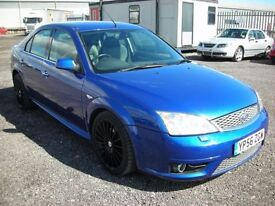 FORD MONDEO 3.0 ST220 5d 226 BHP LOW MILES - HEATED LEATHER SE (blue) 2006