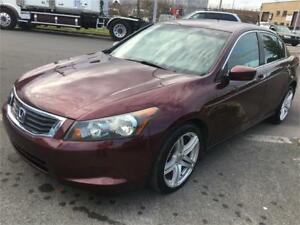 2008 HONDA ACCORD AUTOMATIC 4 CYLINDERS LEATHER AND SUNROOF. VER