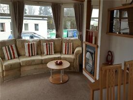 3 bed static caravan sited on naze marine with direct beach access, payment options available