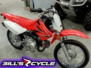 2009 HONDA CRF 70 F9   TRAIL MX RED