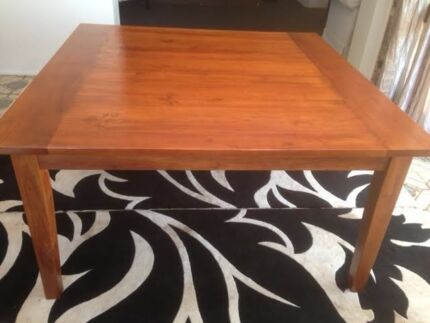 Dinning Table - Solid wood Belrose Warringah Area Preview