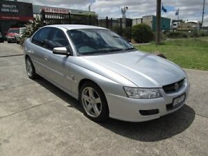 2005 Holden Commodore VZ Equipe Lightning Silver 4 Speed Automatic Sedan Epping Whittlesea Area Preview