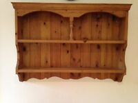 Solid Pine Spice/Plate Rack