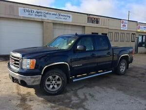 2008 GMC Sierra 1500 SLT-4X4-LEATHER-SUNROOF-DVD-HTD SEATS-ALLOY