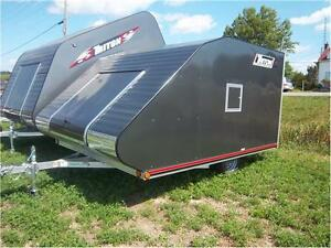 TRITON TC 118 LOW RIDER ENCLOSED SNOWMOBILE TRAILER