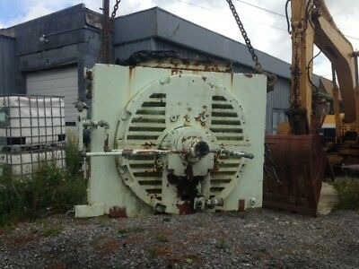 GE 2000 HP Electric Induction Motor
