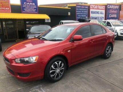 2008 Mitsubishi Lancer CJ MY09 ES Sportback Red 5 Speed Manual Hatchback Cardiff Lake Macquarie Area Preview