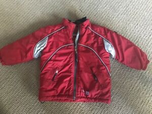 Child's Red Winter Jacket - Size 3X