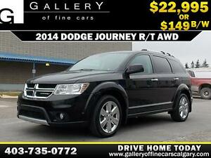 2014 Dodge Journey R/T AWD  $149 BI-WEEKLY APPLY NOW DRIVE NOW