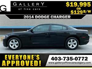 2014 Dodge Charger SE $129 bi-weekly APPLY NOW DRIVE NOW