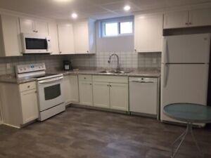 BRAND NEW, legal 1 bedroom basement suite