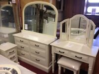 New Hambleton Cream bedroom clearance Wide chest 6 drawer Clearance SALE £239 Last One