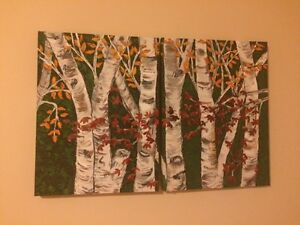 Hand Painted Acrylic Paintings - $50