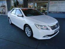 2014 Toyota Aurion GSV50R Presara White 6 Speed Automatic Sedan Hamilton Newcastle Area Preview