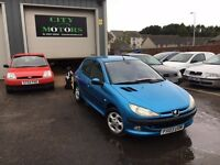 Peugeot 206 HDi, Cheap Tax, Long MOT, Great Condition, Trade-In to Clear