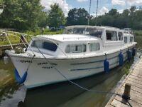 Banham discovery 33 cabin cruiser