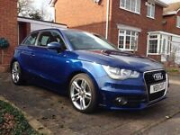 AUDI A1 S LINE 1.4 TFSI Tiptronic Automatic Blue - Not BMW 1 Series, 3 Series, VW Golf or Polo