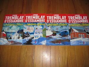"""Série """"Les Héritiers du fleuve"""" de Louise Tremblay D'Essiambre"""