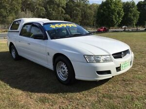 2004 Holden Crewman VZ White 4 Speed Automatic Clontarf Redcliffe Area Preview