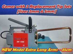 LONG ARM Portable 240V Spot Welder + 2 Welding Tip Sets (2mm&5mm) Beenleigh Logan Area Preview