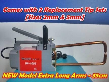 LONG ARM Portable 240V Spot Welder + 2 Welding Tip Sets (2mm&5mm) Beenleigh Logan Area Preview