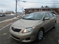 2010 COROLLA 5 SPEED!! AIR!! ONLY 63413KM'S