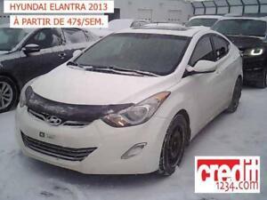 2013 Hyundai Elantra GLS, À PARTIR DE 47$/SEM. 100% APPROUVÉ !