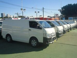 2012 Toyota Hiace TRH201R MY12 Upgrade LWB White 4 Speed Automatic Van Canada Bay Canada Bay Area Preview