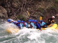 RiverBase Manager for Chinook Rafting - Banff (May - Sept 2018)