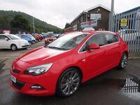 Vauxhall Astra SRI VX-LINE CDTI (red) 2012