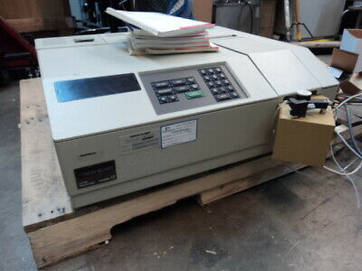 Perkin Elmer Lambda 12 Uv-vis Spectrophotometer With Books Control Software