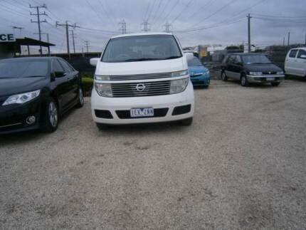 2004 Nissan Elgrand Other Albion Brimbank Area Preview