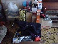 Very large mixed lot of household items suitable for car booter.