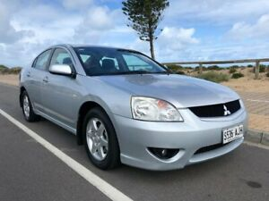 2007 Mitsubishi 380 DB Series 2 ES Silver 5 Speed Sports Automatic Sedan Christies Beach Morphett Vale Area Preview