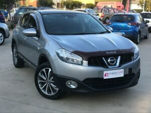 2010 Nissan Dualis J10 Series II MY2010 Ti Hatch Silver 6 Speed Manual Hatchback South Toowoomba Toowoomba City Preview