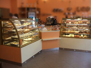 Bakery Pastry Gelato Ice-Cream Display Cases Truffles Chocolate