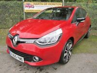 Renault Clio 0.9 Dynamique S Nav TCE 90 Petrol Turbo (flame red) 2015