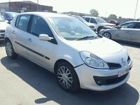 2009 RENAULT CLIO DYNAMIC DCI BREAKING