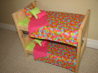 Maplelea Girls Doll Beds and other Solid Wood Furniture