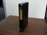 Broadband Router (Model Sagem Fast 2304N Sky) & accessories – boxed