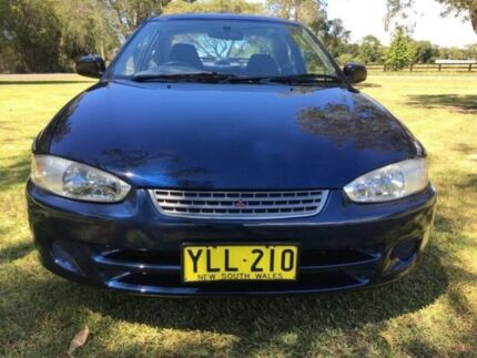 2002 Mitsubishi Lancer CE GLi Blue 4 Speed Automatic Coupe Tuggerah Wyong Area Preview