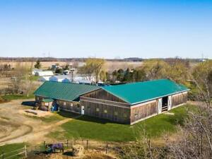 looking horse farm near Montreal area ? potential income/private