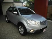 2013 Ssangyong Korando C200 2.0T AWD Silver 6 Speed Automatic Wagon Kedron Brisbane North East Preview